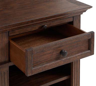 Livingston Nightstand, Brown Wash