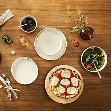 Kaloh Dinnerware, Set of 20, Stone