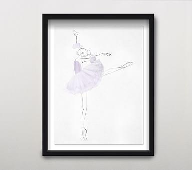 La Ballerina II Wall Art, Blush