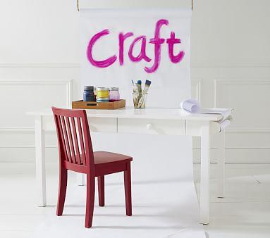 Carolina Craft Play Table, Charcoal