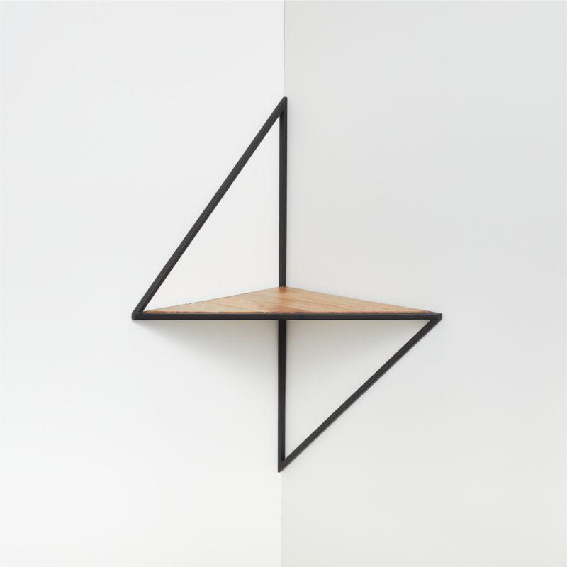 Reva Corner Shelf