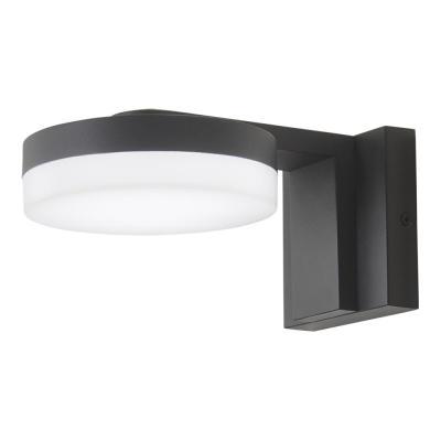 Home Decorators Collection Stanton 1-Light Black LED Outdoor Wall Mount Lantern