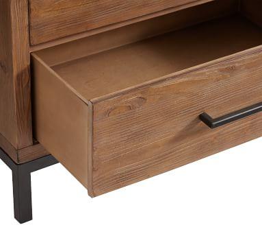 Malcolm Extra Wide Dresser, Glazed Pine