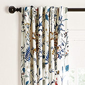 "Isabella Drapery Panel Blue 96"" - Ballard Designs"
