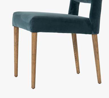 Keva Upholstered Dining Chair, Bella Jasper & Toasted Nettlewood
