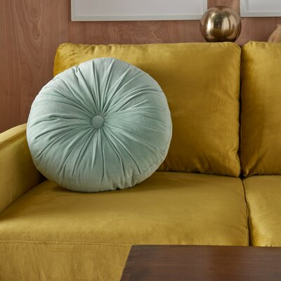 Gaelle Cotton Round Throw Pillow Wayfair