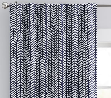 Broken Arrow Blackout Panel, 84 Inches, Gray, Set of 2