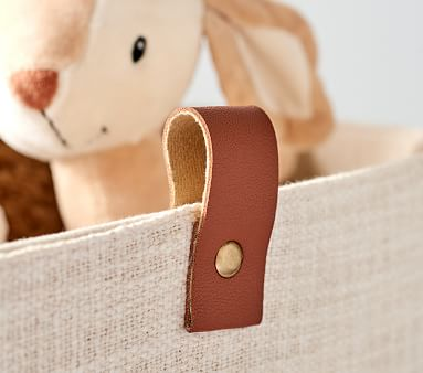 Linen and Leather Storage, Small