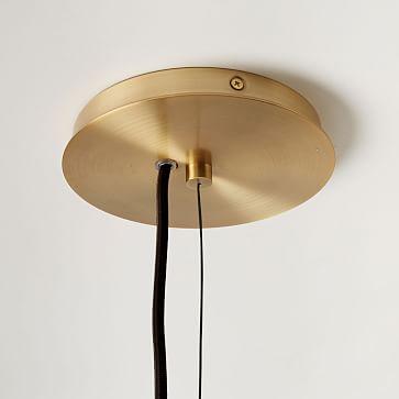"Mobile Chandelier, 55"", Antique Brass"