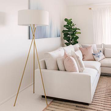 Mid Century Tripod Floor Lamp