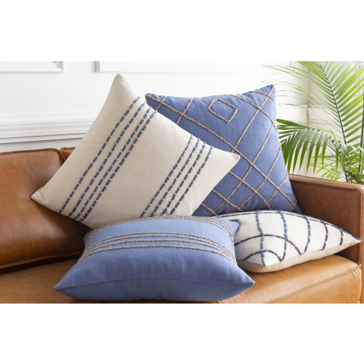 """Emilio - EML-004 - 18"""" x 18"""" - pillow cover only"""