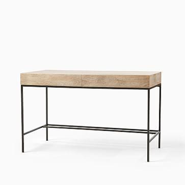 """Industrial Storage Desk, 48"""", Mango"""