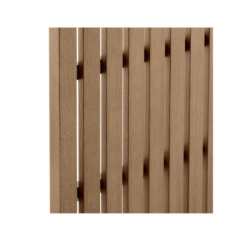 Batten King Plinth-Base Bed, Panels and Nighstands