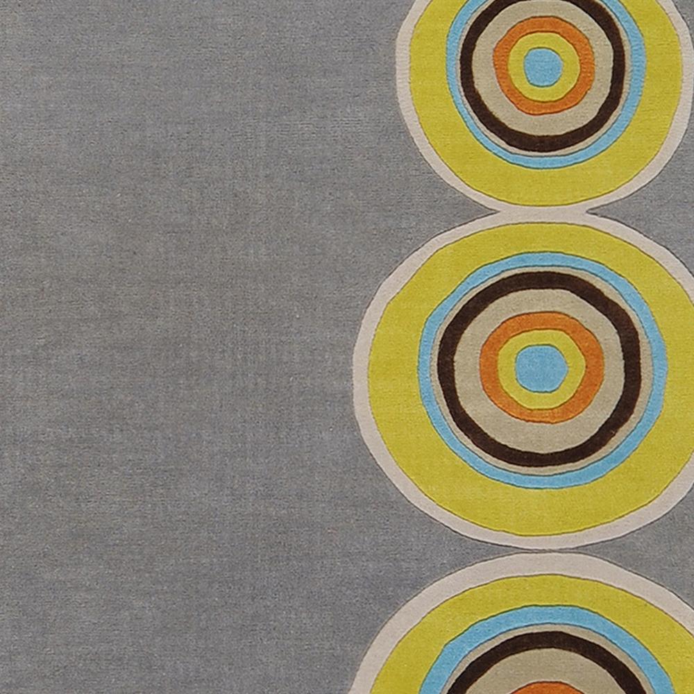 Dazzle 3' Round Area Rug