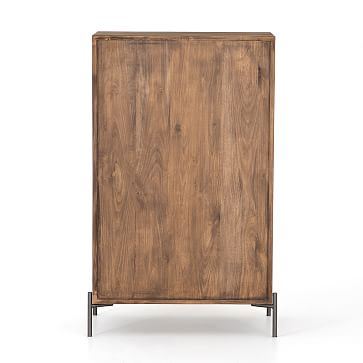 Iron & Wood 5-Drawer Dresse