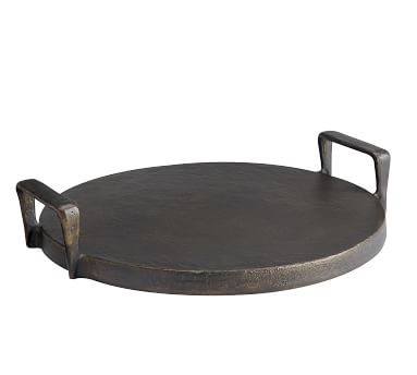 Forged Metal Serving Tray