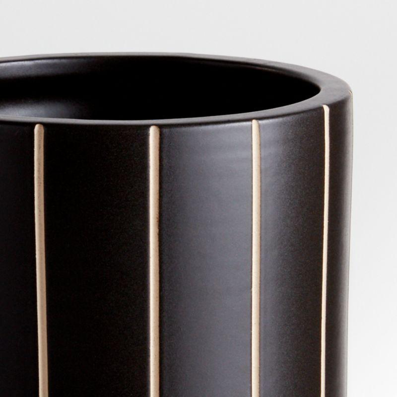 Anvers Large Black Vase