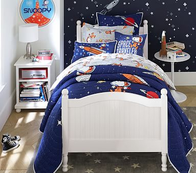 Catalina Bed, Twin, Brushed Fog