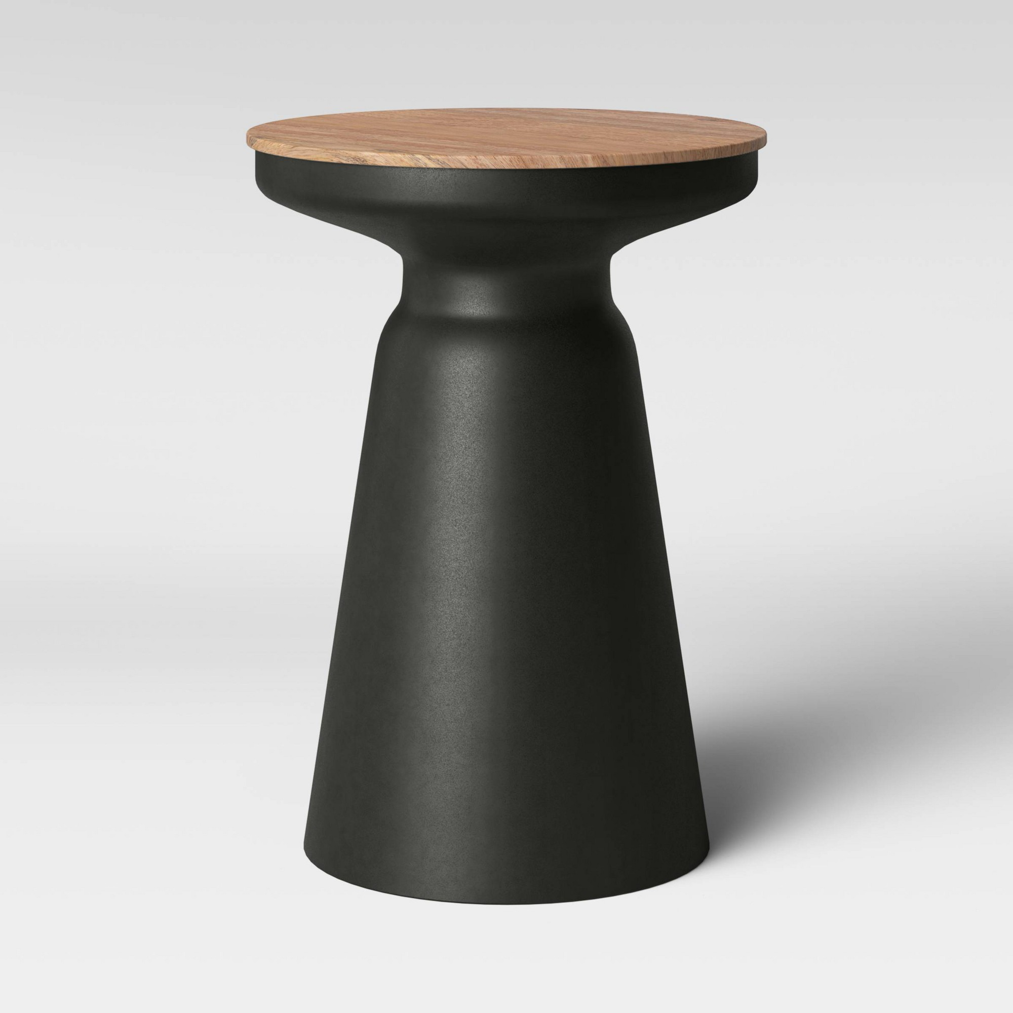 - Gino Turned Drum Accent Table Black - Project 62 - Target