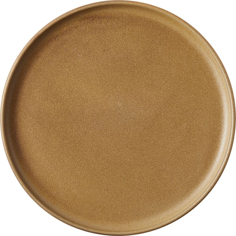 Axel Caramel Dinner Plate