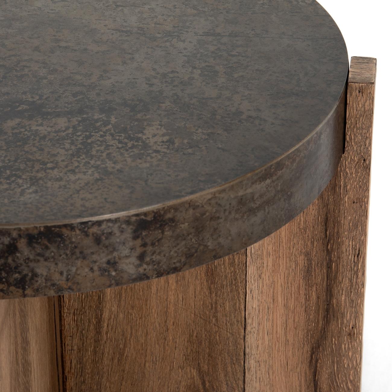 Irminie Round Side Table