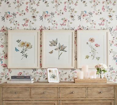 Monique Lhuillier Faux Anemone & Ranunculus Bundle, Blush