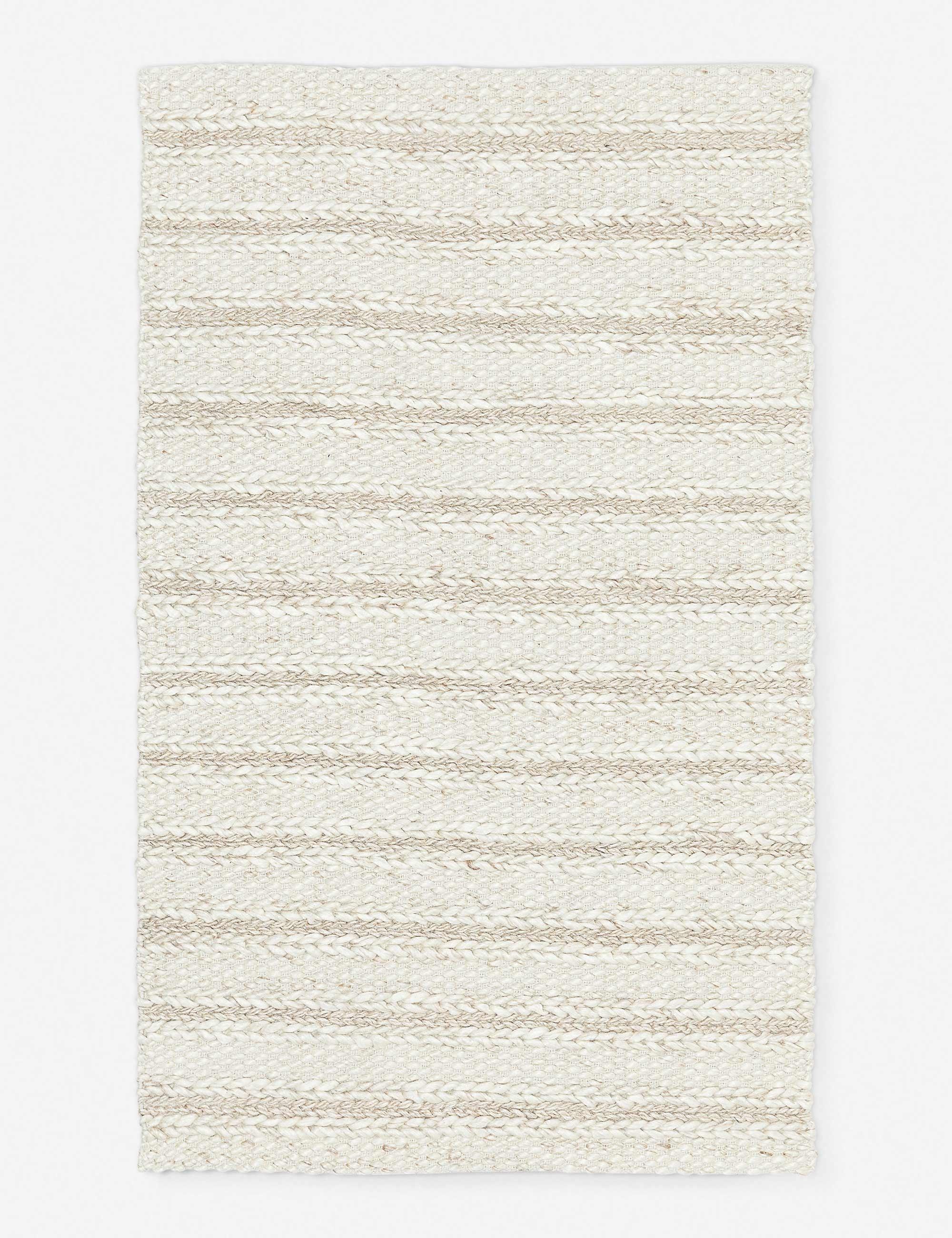 Estie Rug, Soft Sand 8' x 10'