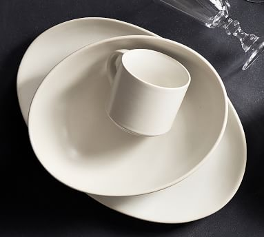 Mason Stoneware Oval Serving Platter - Blue