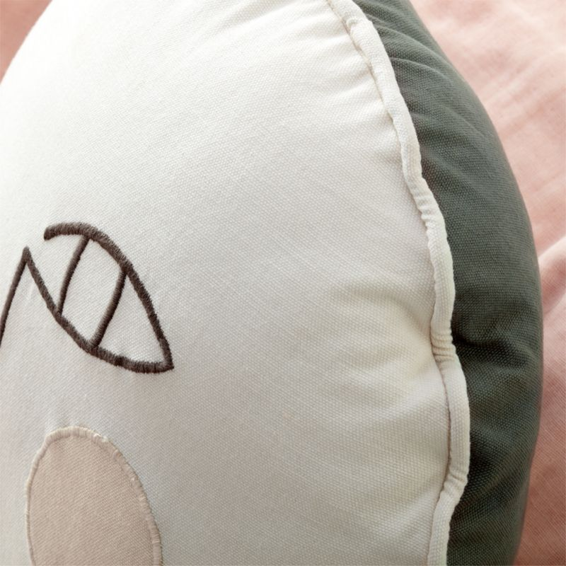 Black and White Face Pillow