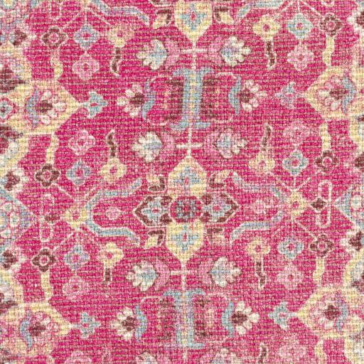 """Azariah Lumbar Pillow Cover, 22"""" x 14"""", Pink"""