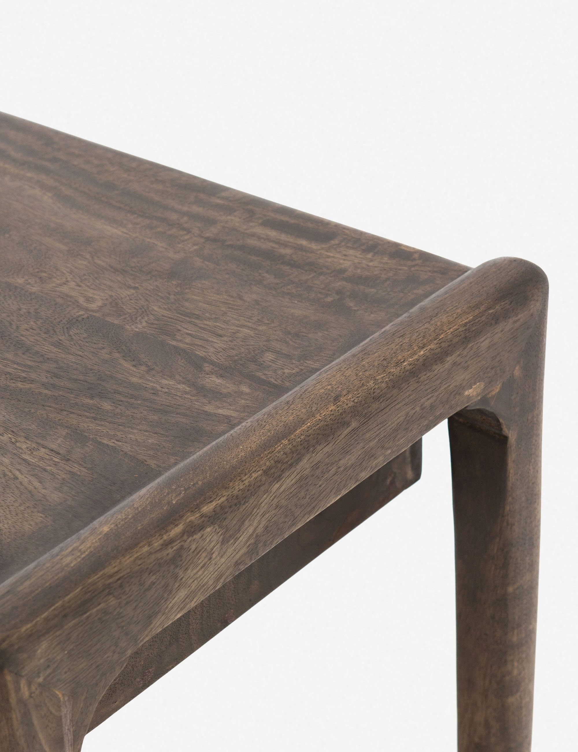 Chaya Console Table, Aged Mango Wood