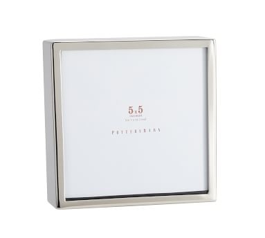 "Hagen Picture Frame, Silver, 5"" x 5"""