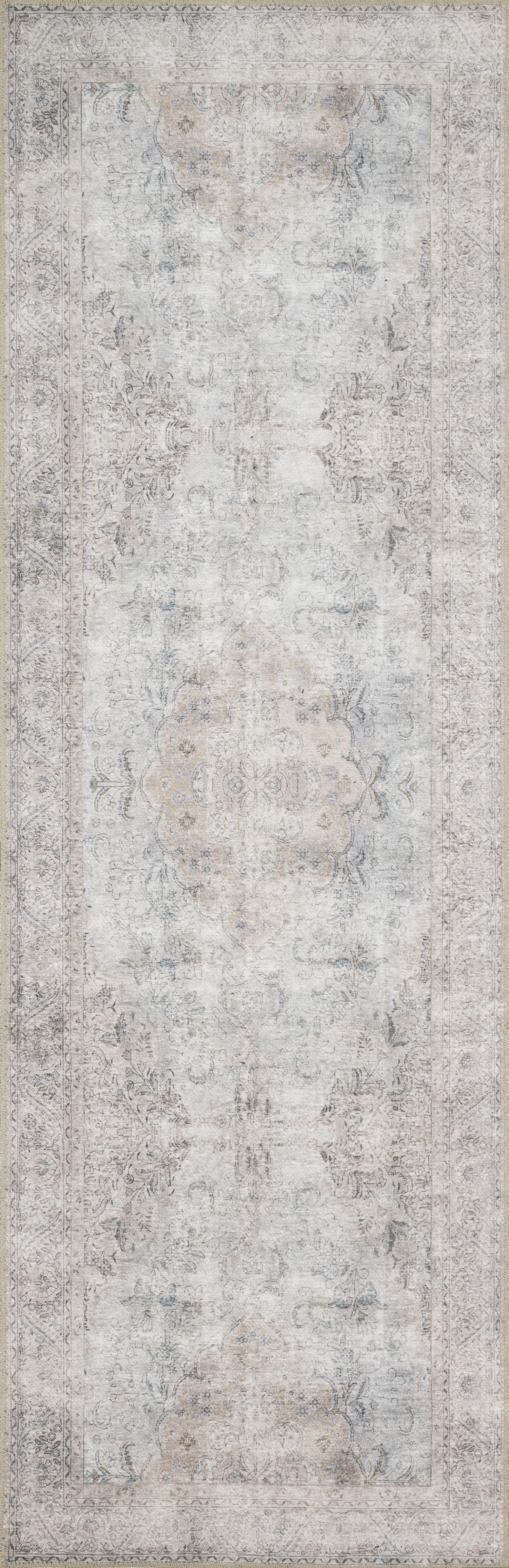 """Loloi Loren LQ-04 Silver / Slate 8'-4"""" x 11'-6"""""""