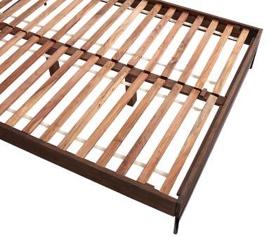 Warren Platform Bed, Queen, Walnut