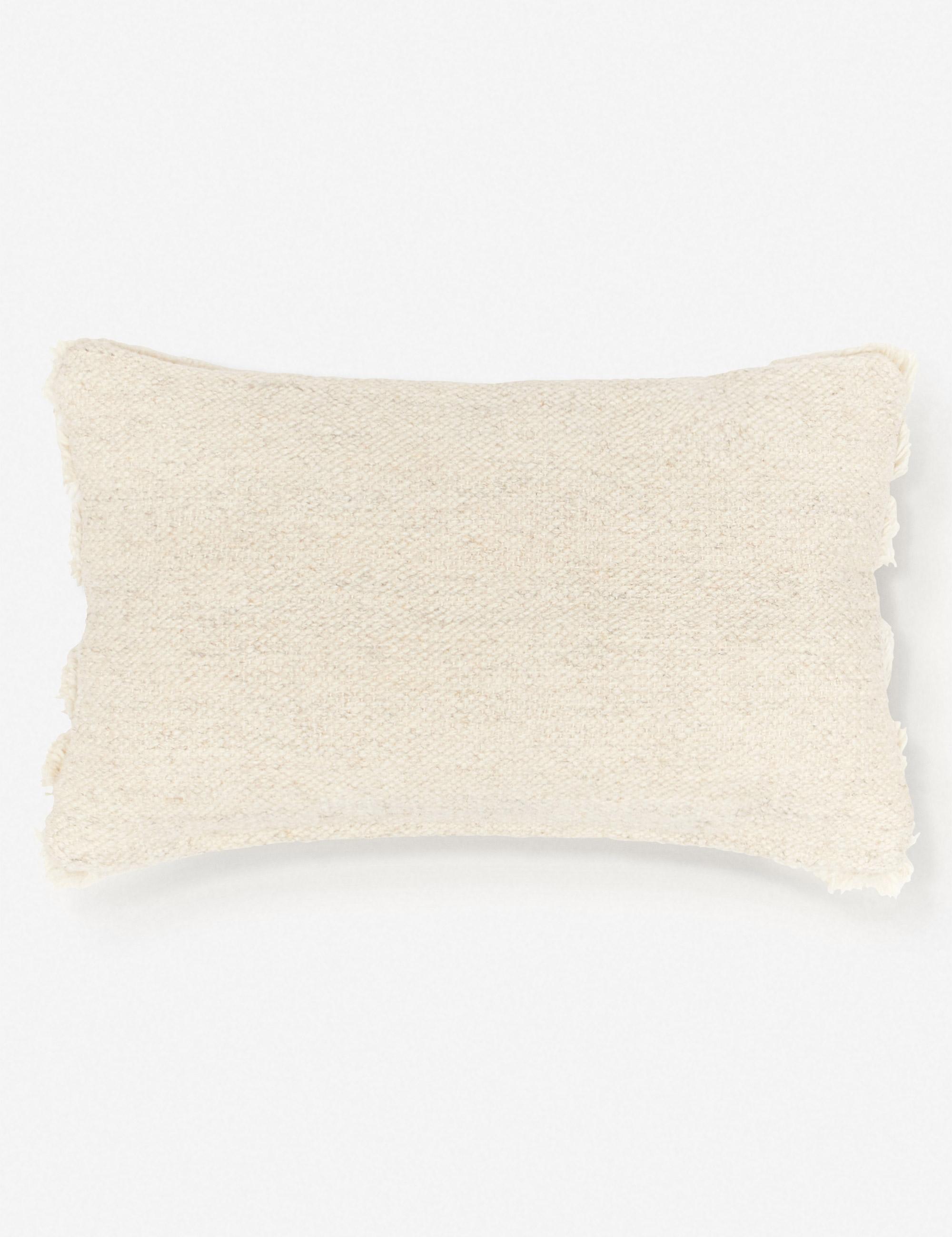 Arches Lumbar Pillow, Natural By Sarah Sherman Samuel