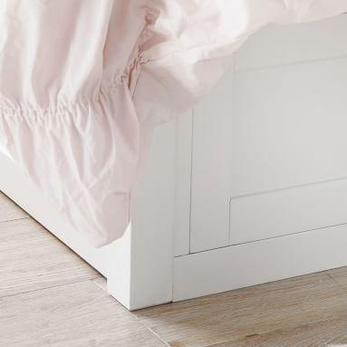 Hampton Corner Storage Bed, Queen, Brushed Fog, In-Home