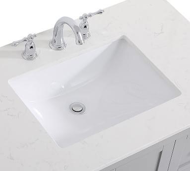 """Reeves 36"""" Single Sink Vanity, White"""