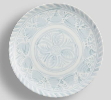 Chambray Tile Stoneware 16-Piece Dinnerware Set
