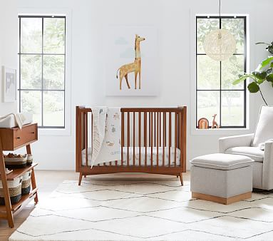 west elm x pbk Tricolor Nursery Storage, Diaper Caddy