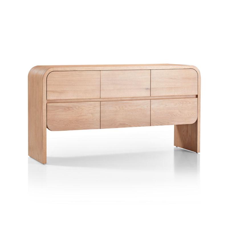Cortez Natural Floating Dresser