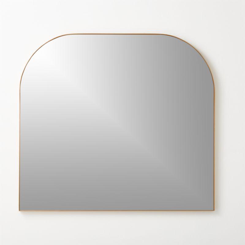 Infinity Brass Mantel Mirror