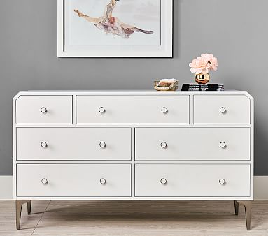 Avalon Extra Wide Dresser, Simply White, Unlimited Flat Rate Delivery
