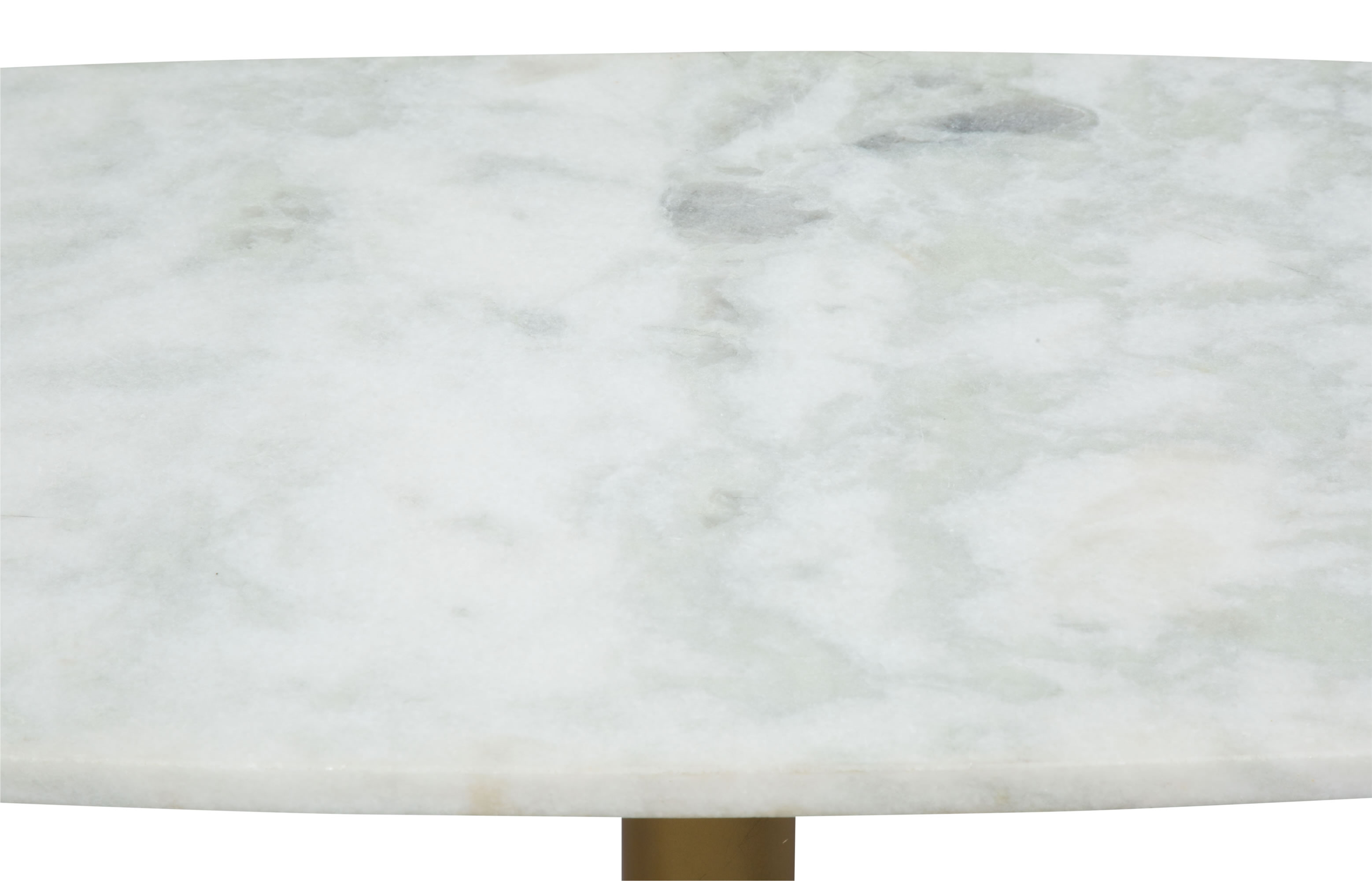 Parker Coffee Table White & Gold