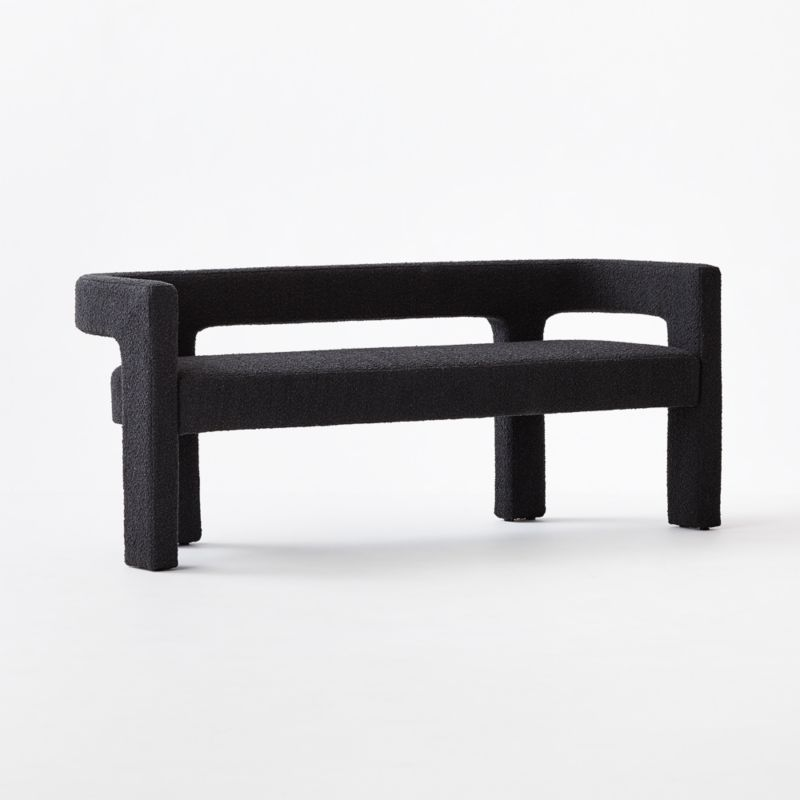 Stature Black Bench