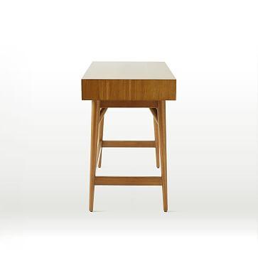 Mid Century Mini Desk, Acorn