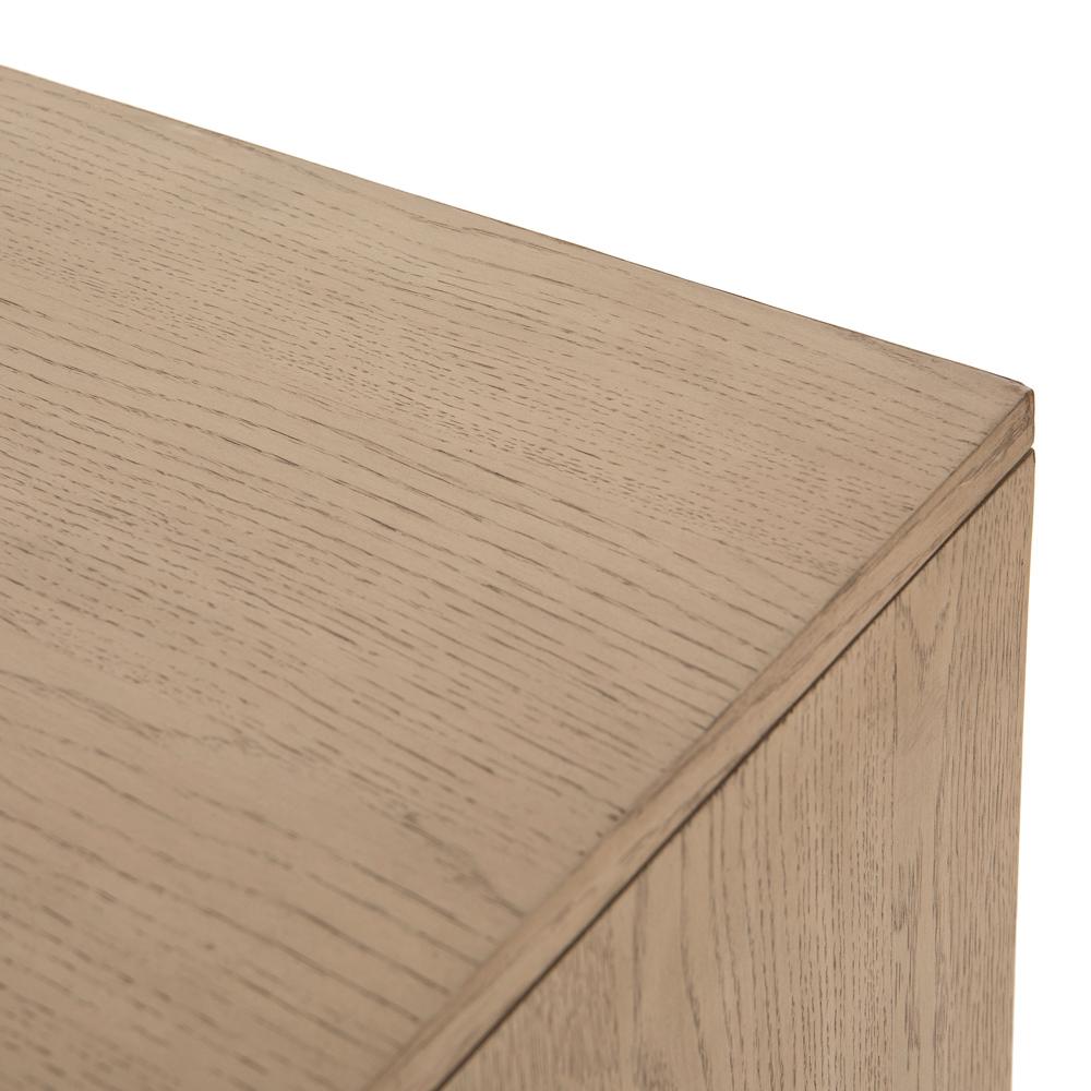 Matthew Modern Classic Brown Wood 6 Drawer Double Dresser