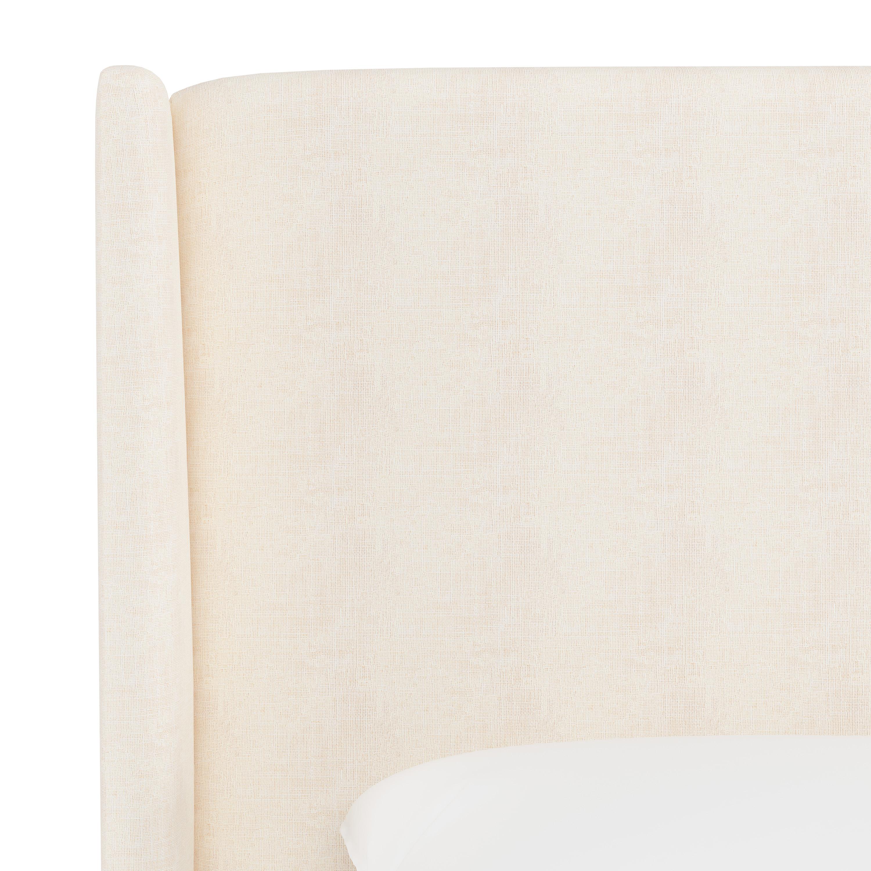 Bannock Wingback Headboard, King, White