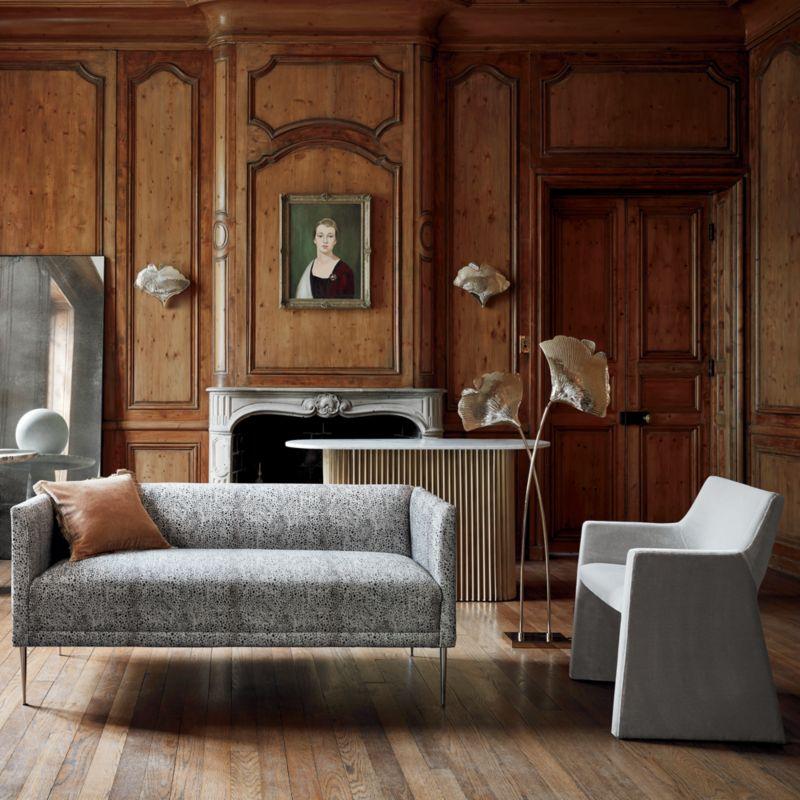 Ginkgo Brass Sculptural Floor Lamp RESTOCK Mid October 2021