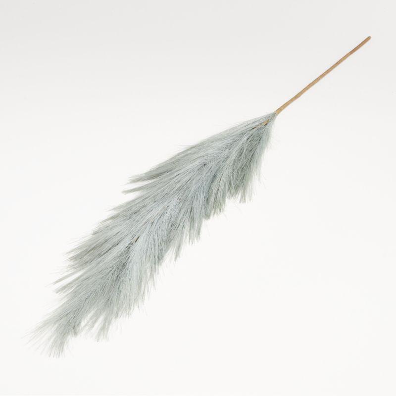 Artificial Dusty Blue Pampas Grass Stem