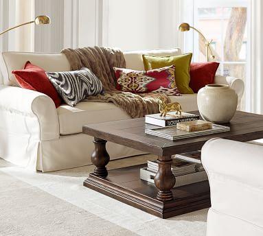 Lorraine Coffee Table /, Gray Wash